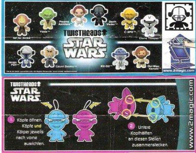 Série : 10TWISTHEADS-STAR WARS