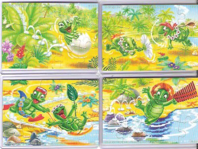 Série : 04 PUZZLES TARTALLEGRE