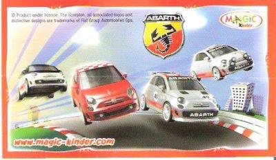 Série : 04  MINI MAXI FIAT  (Italie)