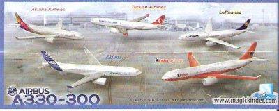 Série  :  05AIR BUS A330-300  EXCLUSIVEMENT DUTY FREE