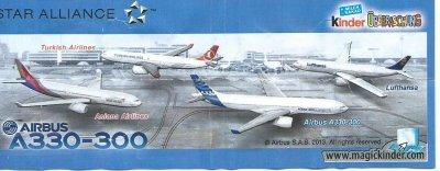 Série : 04AIRBUS A330-300 (Allemagne)  (Sortie 2013-2014 avec n° Anterieur)