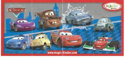 Série : 08DISNEY CARS II  (Russie 2015)  bpz différent