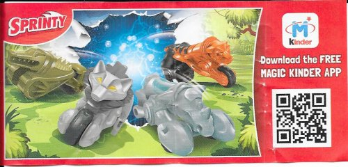 Série : 04SPRINTY - ANIMAUX MOTO
