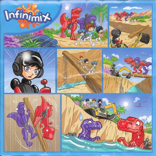 Série : 06 MINI MAXI INFINIMIX FILLES-GARCONS