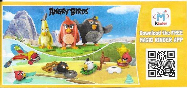 Série : 08M*Kinder : ANGRY BIRDS II (Bielorussie)