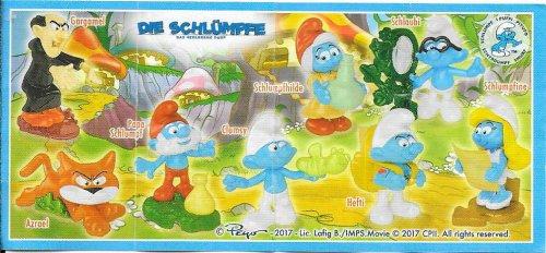 Série : 08LES SCHTROUMPFS  III  (Allemangne)