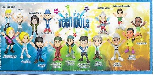 Série : 16TEEN IDOLS : Personnage  (Kinder Joy)
