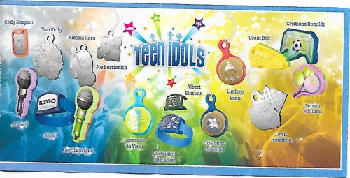 Série : 16TEEN IDOLS - (Accessoires) Kinder Joys