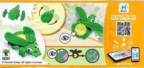 Série : 04Mixart-  Recherche d'insectes loupe