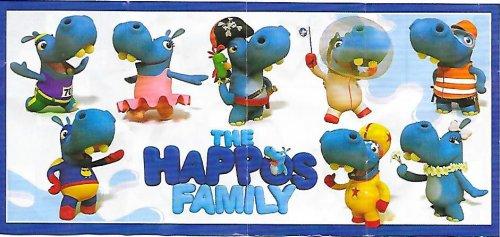 Série : 08Neutre - La famille Hippos (Bielorussie)