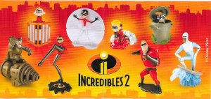 EN311 - EN319  Incredibles 2  (Biélorussie)