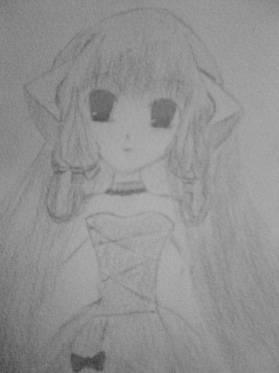 un dessin d'une amie