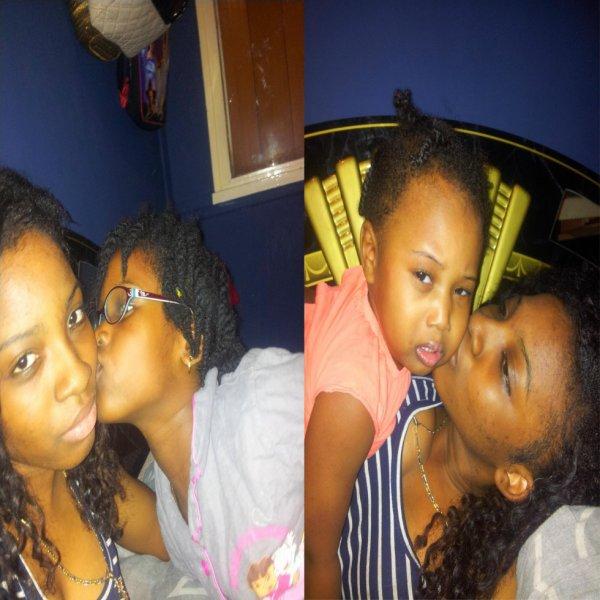 moi et ma fille ♥ ♥