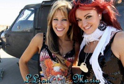 maria kanellis and lilian garcia
