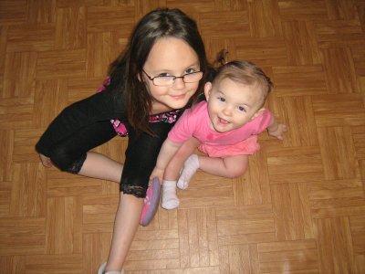 mes 2 petite niece