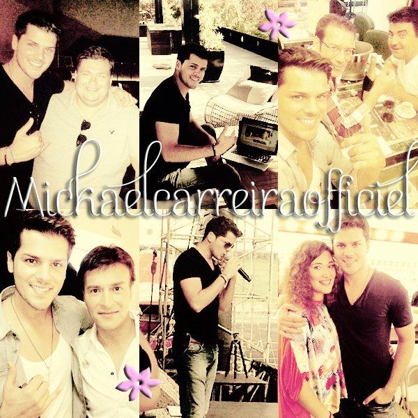 Mickael Carreira ( Photos Facebook )