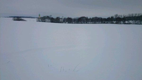 Pour une fois y a de la neige ❤
