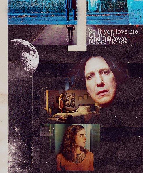 Image Hermione/Severus et Projet !