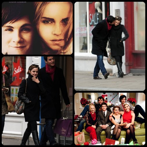 "Nouvelles photos de ""My Perk Of being a Wallflower"" ainsi que 2 photos d'Emma et son nouveau Boyfriend."