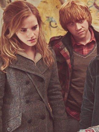 Nouvelles photos du film Harry Potter Partie 1 avec Emma Watson.