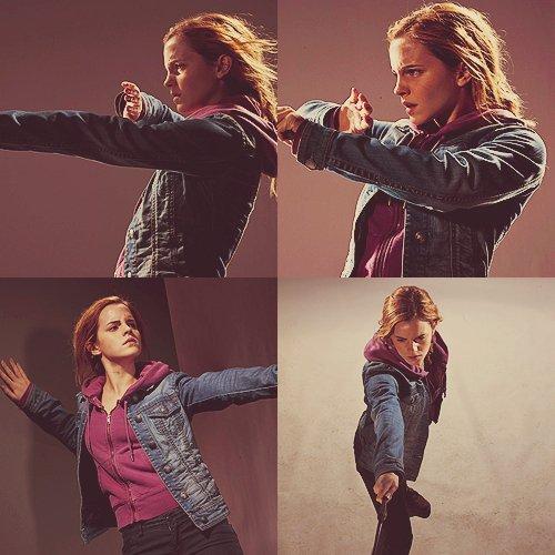 Nouvelle photo de tournage HP7 Part1+ 4 nouvelles photos d'Hermione Granger