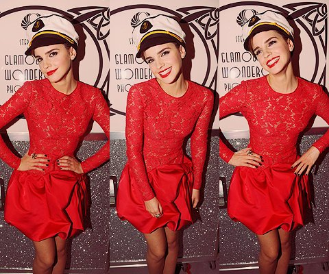 Emma Watson à la soirée Pré-BAFTAs organisée par Lancôme
