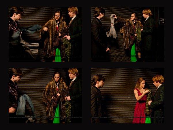 Nouvelles photos d'Hermione Granger dans Harry Potter Partie 1.