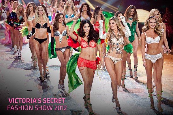 Lingerie de Noël pour Victoria Secret