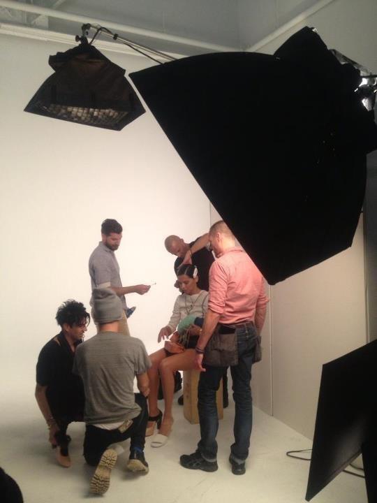 Adriana Lima shooting pour la marque Metrocity.