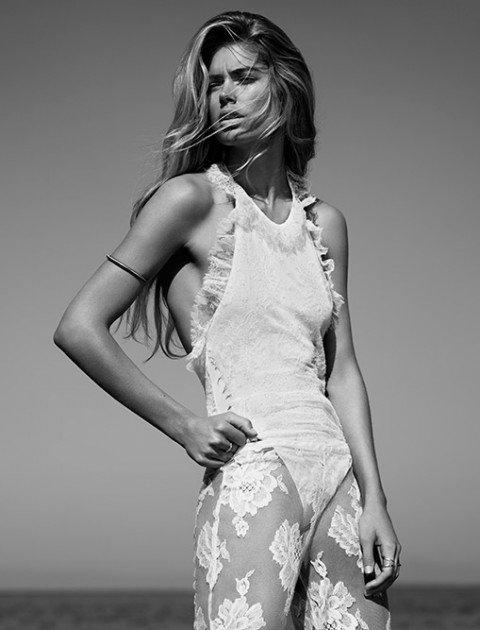 Photoshoot de Doutzen Kroes pour le Vogue U.K. de Janvier 2013