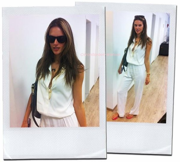 """Nouvelles photos d'Alessandra Ambrosio pour Victoria Secret Printemps/Eté 2013+ Photos d'Alessandra au QG de """"Vogue"""" Brézil."""