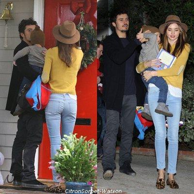 Miranda Kerr et Orlando Bloom : le célèbre couple enfin réuni pour une virée stylée et en famille à Los Feliz !