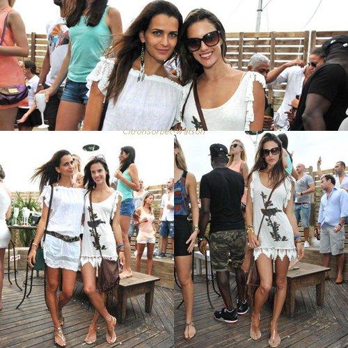 Nouvelles photos d'Alessandra Ambrosio pour Victoria Secret + Alessandra au cafe de la musique avec Fernanda Motta + Photos Twitter d'Alessandra et Doutzen Kroes...