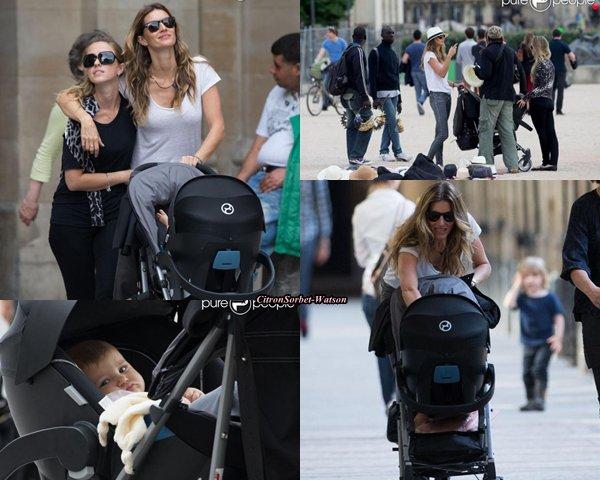 Le 20.06.13 : Gisèle accompagnée de sa fille Vivian et de sa soeur ont visité Paris et le Louvre...
