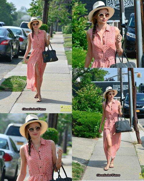 Le 27.06.13 : Miranda se baladait à Long Beach dans l'Etat de New-York...