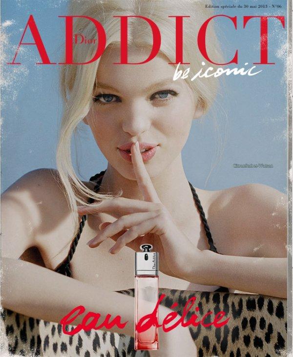 Daphne Groeneveld pour l'édition spécial du magazine Dior de Mai 2013...