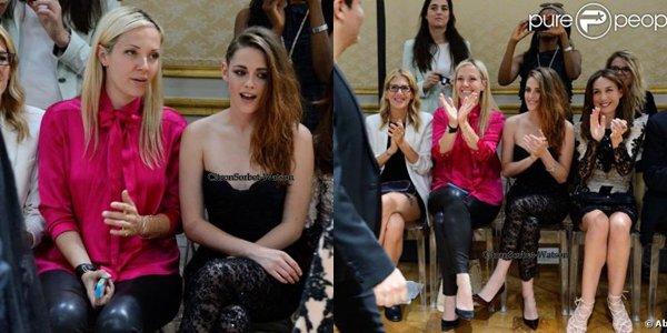 Le 04.07.13 : Kristen Stewart était à Paris pour le défilé Zuhair Murad...