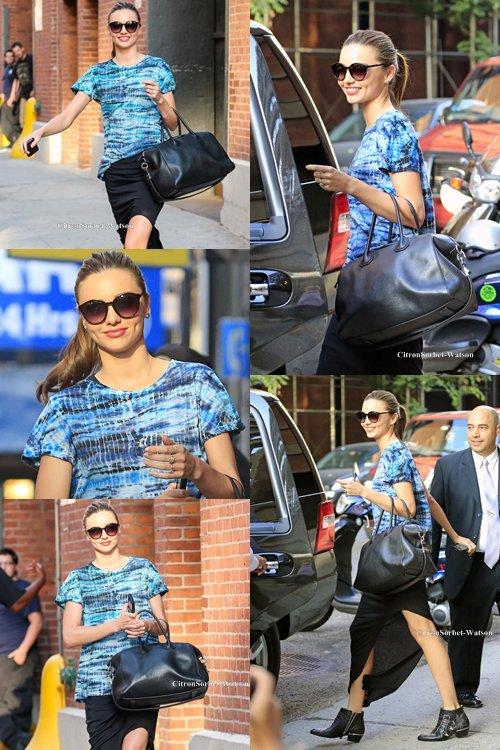 Le 09.07.13 : Miranda se rendait à un rendez vous professionnel dans New-York...