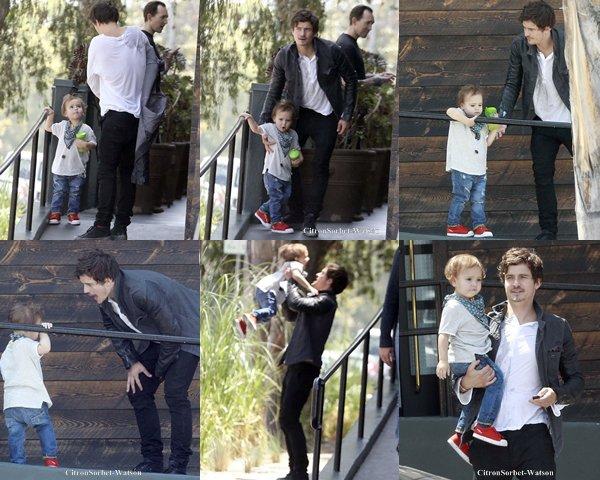 Article spécial : Les différentes sorties d'Orlando Bloom avec son fils Flynn...