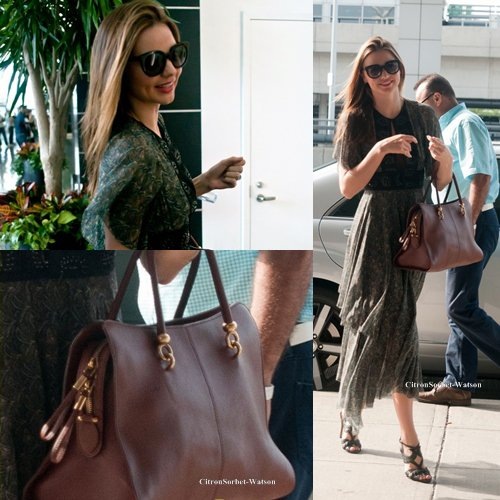 Le 14.07.13 : Miranda se rendait à l'aéroport JFK à New-York.....