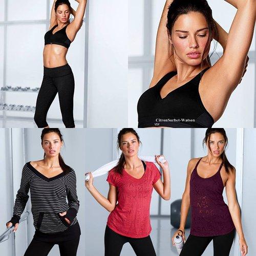 Adriana pour la nouvelle campagne de la marque Miu Miu...