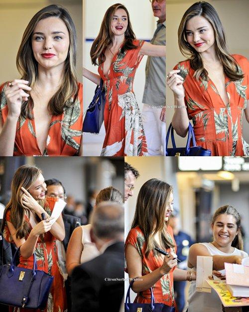 Le 17.07.13 : Miranda est arrivée à l'aéroport de Tokyo...