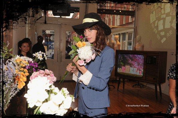 Le 23.07.13 : Alexa était à une fête pour Orla Kiely à New-York...
