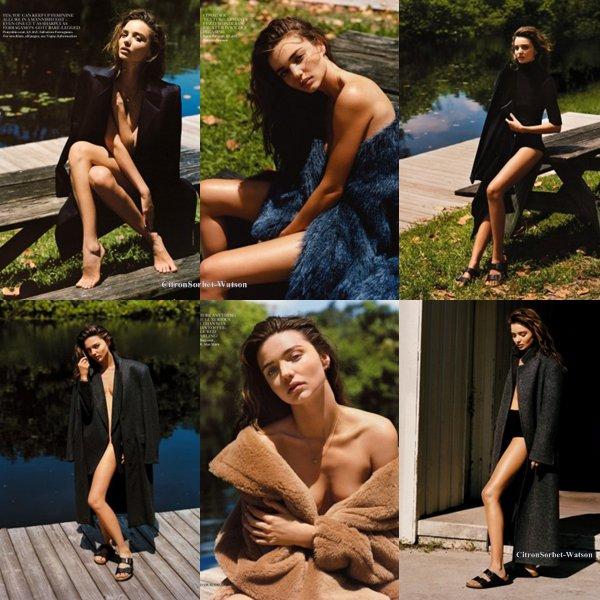 Photoshoot de Miranda Kerr pour le Vogue U.K. de Septembre...