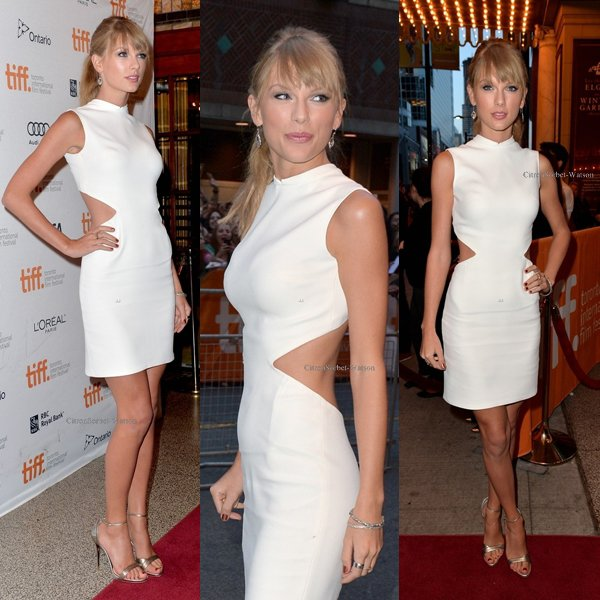 Le 09.09.13 : Taylor était au festival internationnal du film à Toronto...