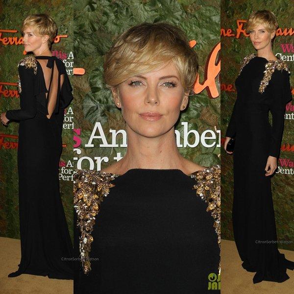 Le 17.10.13 : Charlize,Alessandra et Anne étaient à la soirée de Gala au Wallis Annenberg Center à Beverly Hills...