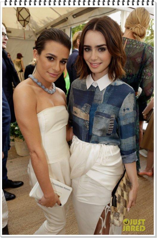 Le 23.10.13 : Lea et Lily étaient au 2013 CFDA & Vogue Fashion Fund Event à West Hollywood...
