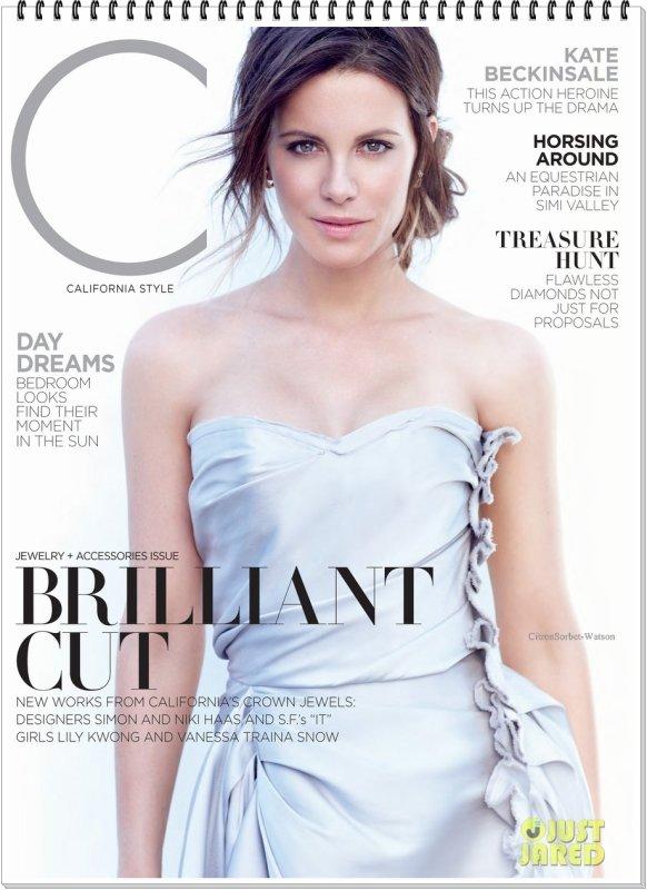 Kate en couverture de l'édition de Novembre 2013 du magazine C...