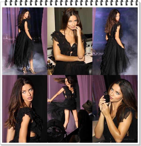 Adriana pour le nouveau parfum de la marque Victoria's Secret...