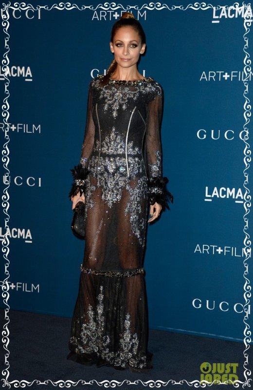 Le 02.11.13 : Nicole était présente au LACMA Art & Film Gala 2013 à Los Angeles...